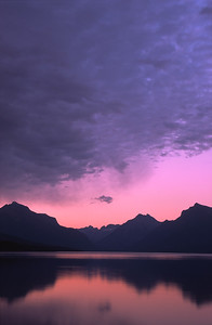 Lake MacDonald sunset, Glacier National Park