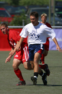 Staff vs B-19 Heden Center at Gothia Cup Sweden July 20 027