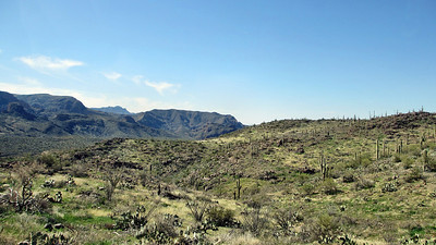 Apache Trail and Goldfield Mining Town