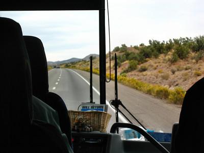 Grand Canyon South Rim - Arizona - Traveling Intestate 40 in Northern Arizona