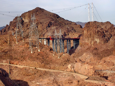New Highway Bridge to replace road over the dam.