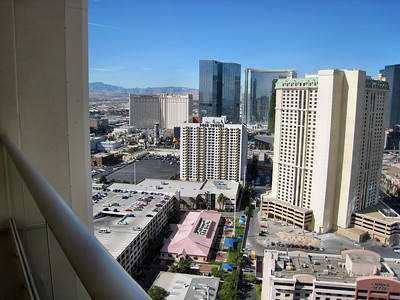 Las Vegas Scenes    - View from my balcony at the Signature