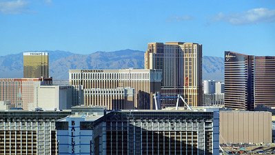 Las Vegas February 2013 - View from my Suite at the Elara