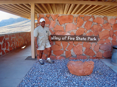 Nevada's Valley of Fire State Park - Our tour guide