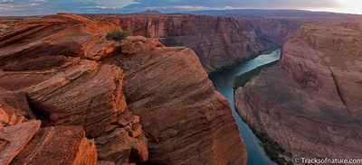 Sunset over the Colorado River, Arizona