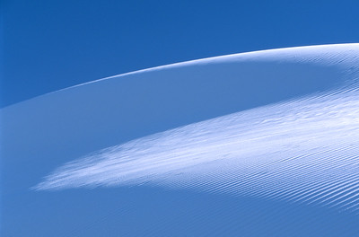 Sand dune, White Sands National Monument