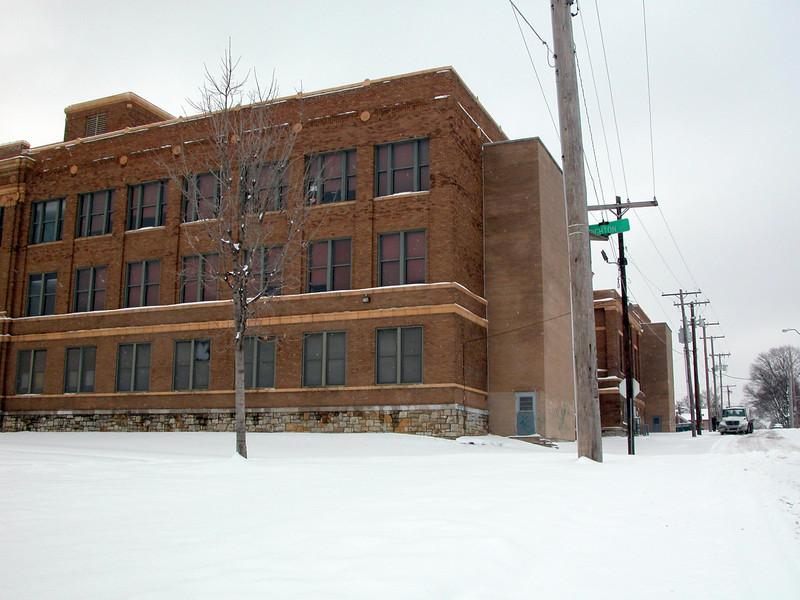 Northeast Jr. High School. My fist job as a teacher.