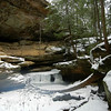 HOCKING HILLS WINER HIKE