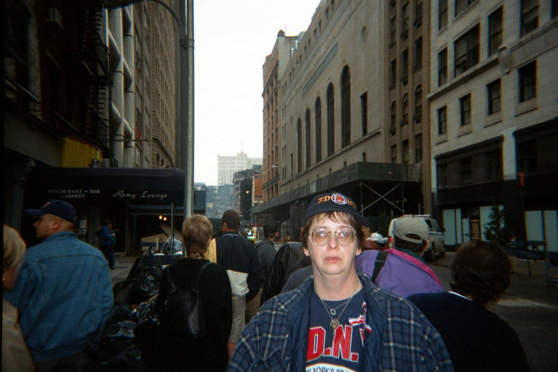 NEW YORK CITY A FEW WEEKS AFTER 9-11