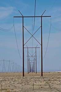 Power lines, Utah