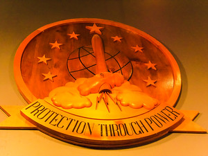 protection through power motto in cold war