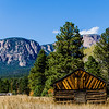 Cabin near Mountains in New Mexico