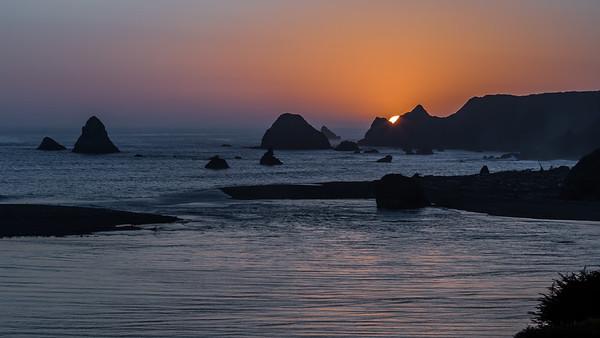 Jenner California At Sunset