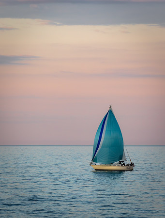 Lake Superior Sailboat