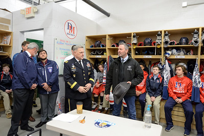 5th Annual American Heroes Hockey Challenge at the Gardens Ice House in Laurel, Maryland on 2/3/2017. (Photo by Michael McSweeney).