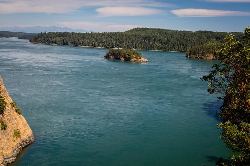 Canoe Pass  View
