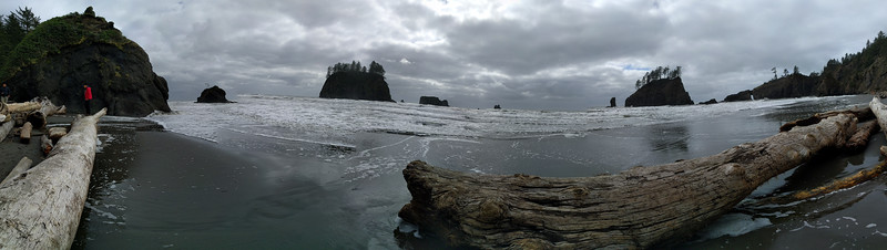 Coast of northwest Washington