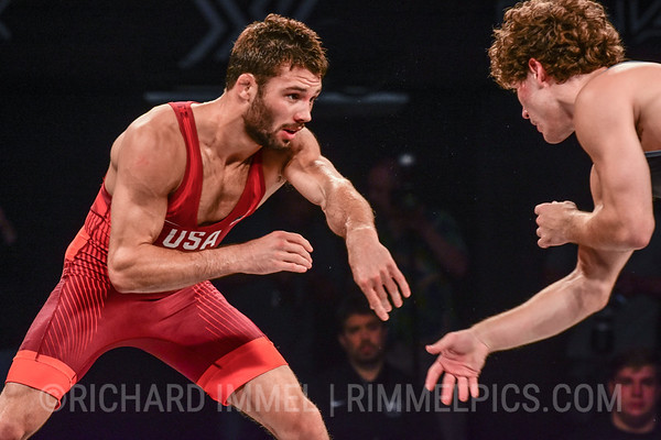 57 kg: Thomas Gilman (Titan Mercury WC) dec. Daton Fix (Titan Mercury WC), 6-3