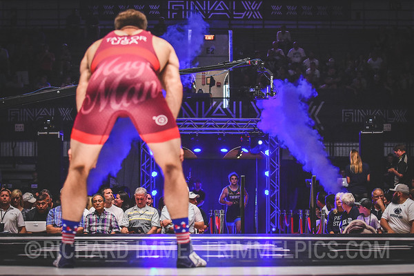 86 kg: David Taylor (Nittany Lion WC) tech. fall Nick Reenan (Titan Mercury WC), 13-2