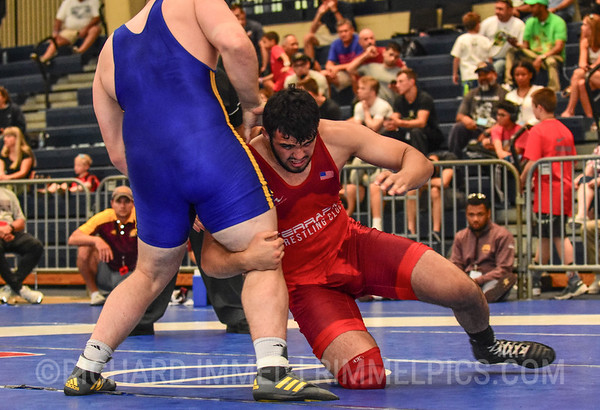 125 kg: Youssif Hemida (Terrapin WC) tech. fall Matt Stencel (Chippewa WC), 11-0