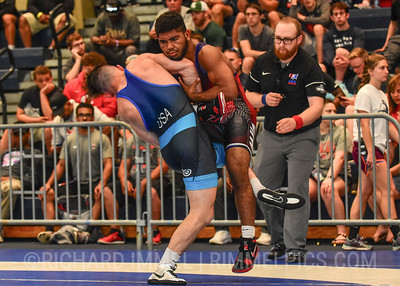 65 kg: Mitchell Mckee (Minnesota Storm) tech. fall Dominick Demas (Oklahoma RTC), 10-0