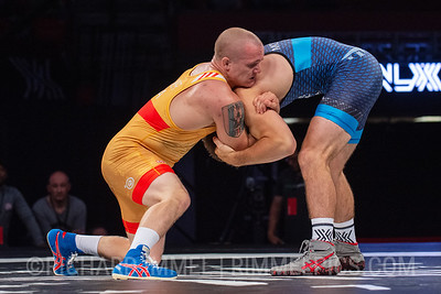 72 KG: Raymond Bunker (U.S. Marine Corps) VPO1 Alex Mossing (Air Force RTC), 3-1