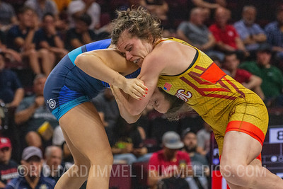 72 KG: Victoria Francis Colorado Springs, CO (Titan Mercury Wrestling Club) VFA Alyvia Fiske Napa, CA (Titan Mercury Wrestling Club), 4-2 3:30