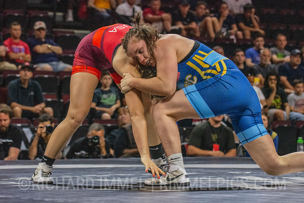 72 KG: Victoria Francis Colorado Springs, CO (Titan Mercury Wrestling Club) VPO1 Alyvia Fiske Napa, CA (Titan Mercury Wrestling Club), 7-2