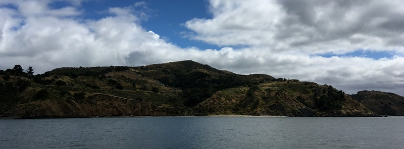 Angel Island looked very calm and peaceful this morning