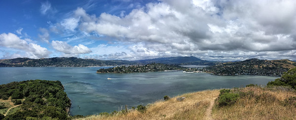 Views to Tiburon and Marin City