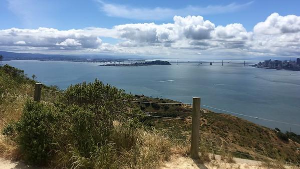 Treasure Island and Bay Bridge