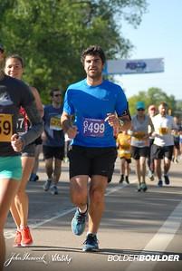 We ran together!