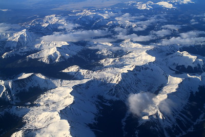 Over the mountains back home to San Francisco
