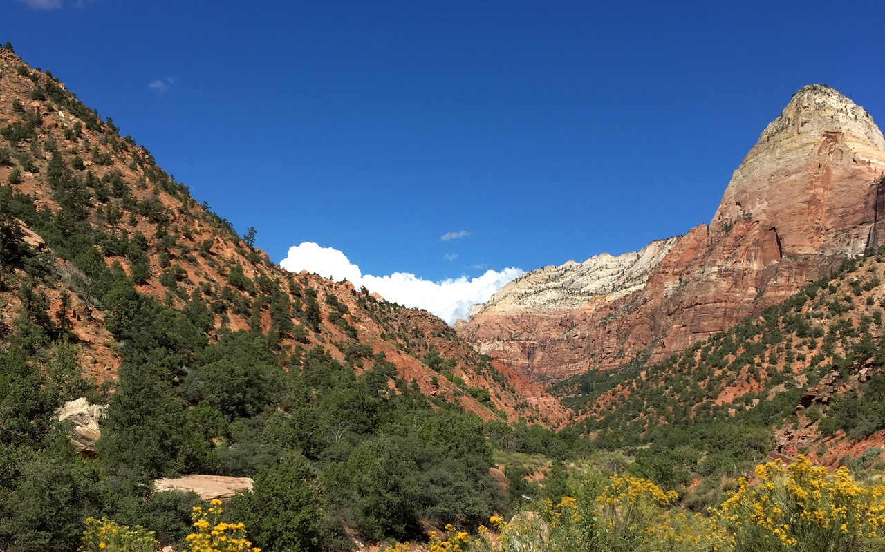 A valley in Zion
