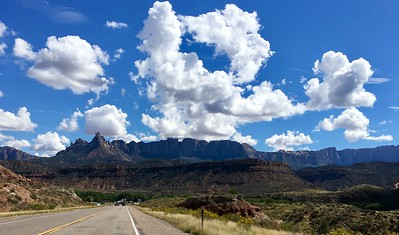 Approaching Zion National Park
