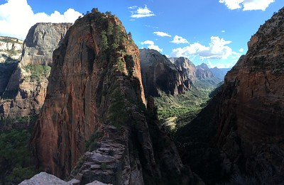 Walk to the top of Angel Landing