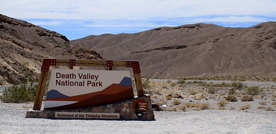 Entering Death Valley National Park