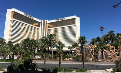 Our hotel in Vegas