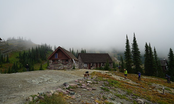 Granite Park Chalet, weather setting in