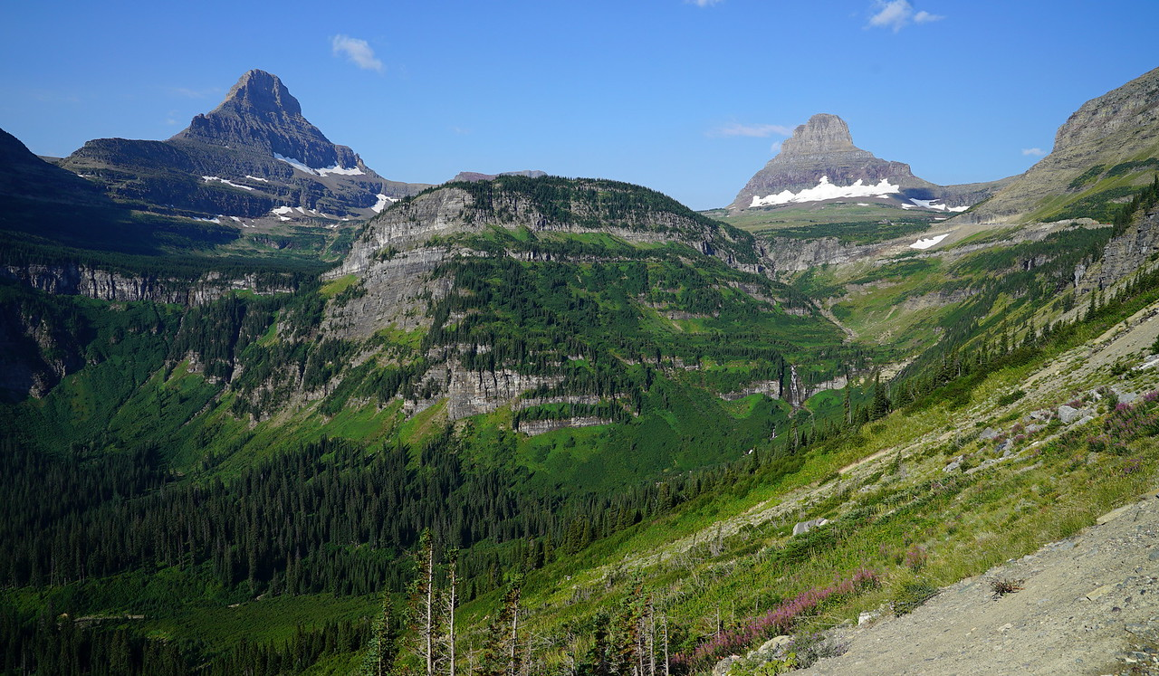 Back on the road again: Saint Mary Lake Valley