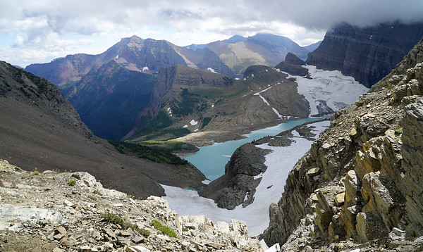 Grinnell and Salamander Glaciers. Tomorrow we will be down there.