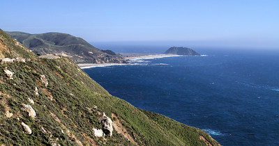 Hurricane Point: Point Sur State Historic Park (view South)