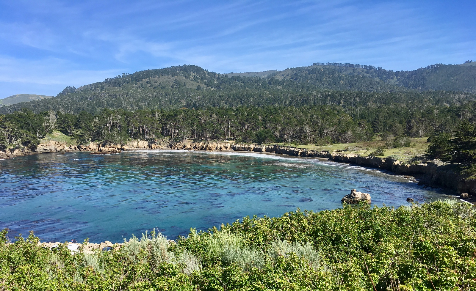 Views of the Whaler's Cove
