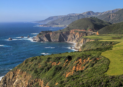 Hurricane Point: Bixby Bridge up North
