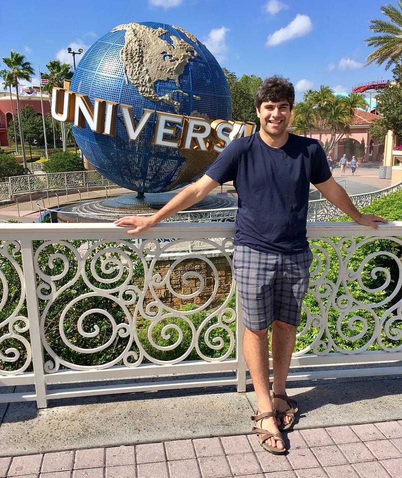 Graham at Universal