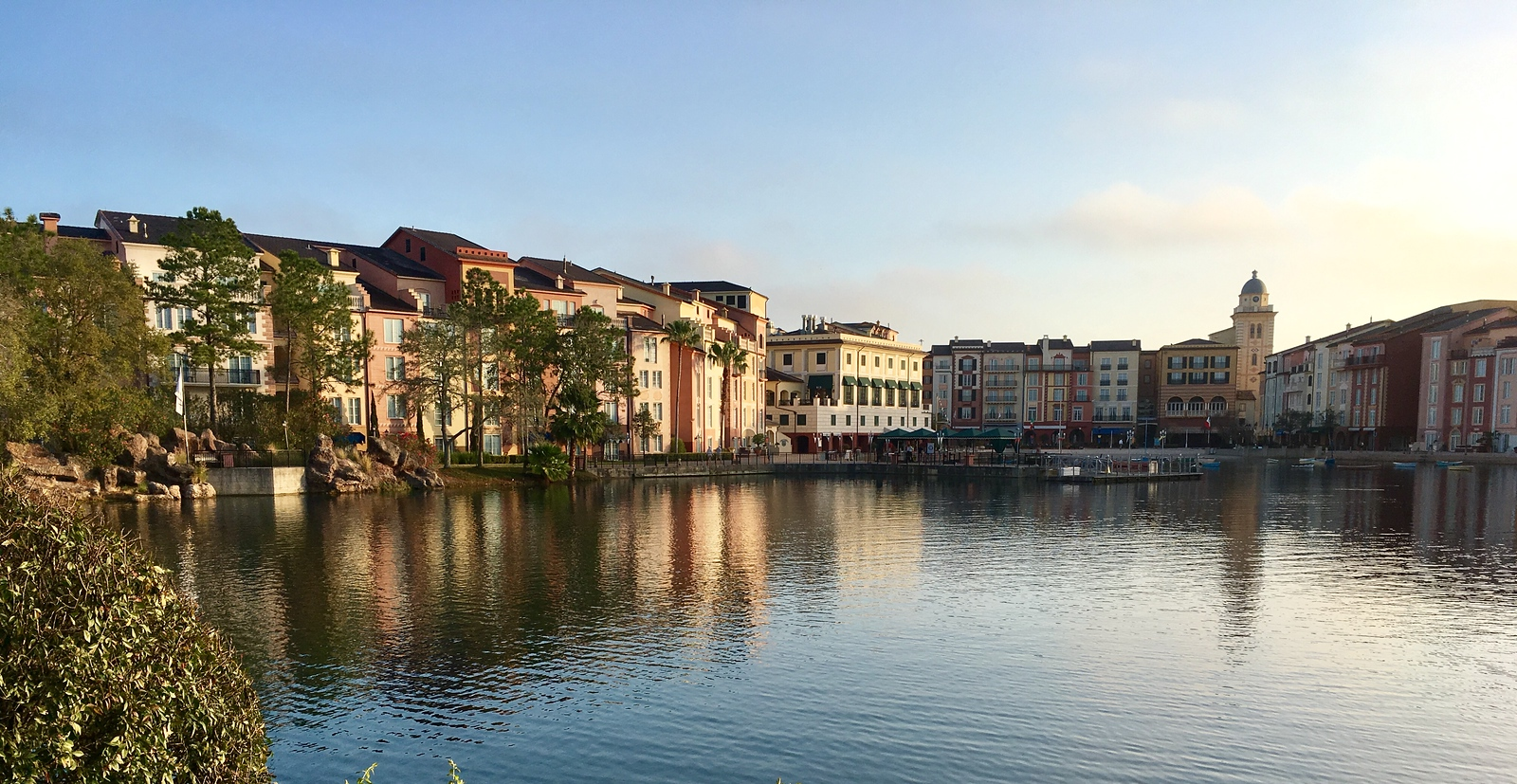 Portofino hotel where Yuliya ran around collecting Strava crowns