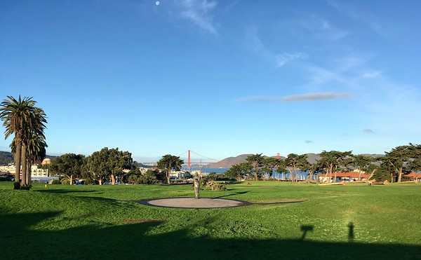 Morning at Fort Mason