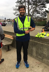 Volunteering at the Crissy Field parkrun
