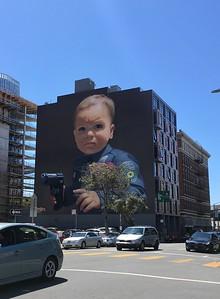 New city mural