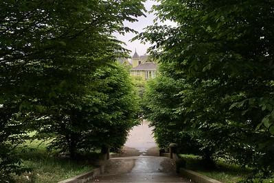 Lafayette Park after the rain